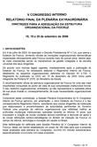 V Congresso Interno - Relatório Final da Plenária Extraordinária - Setembro de 2006